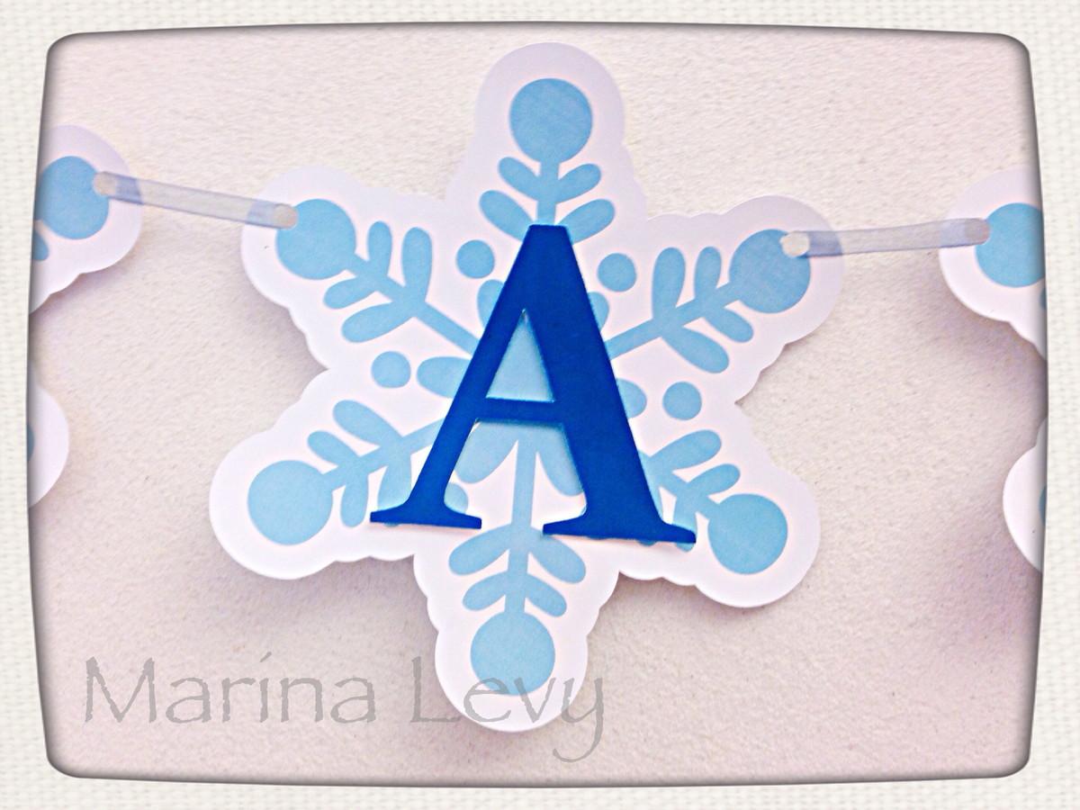 Bandeirola Especial - Frozen