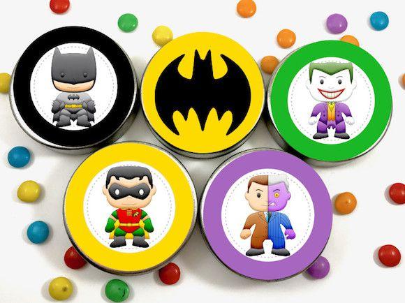 Batman - Monte seu Kit  - Marina Levy Festas