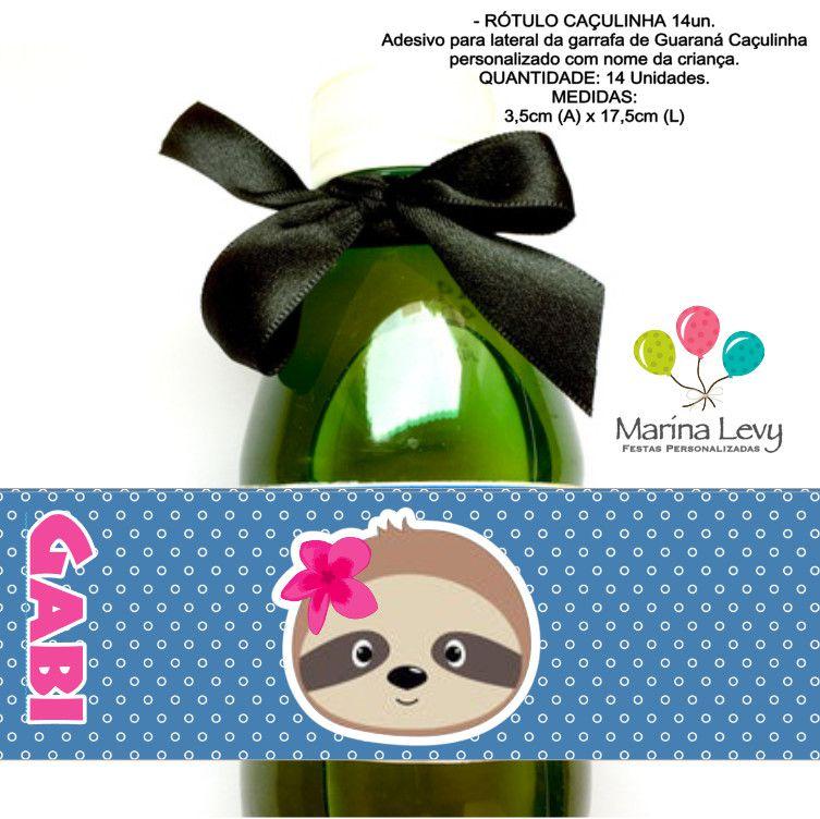 Bicho Preguiça - Monte seu Kit  - Marina Levy Festas