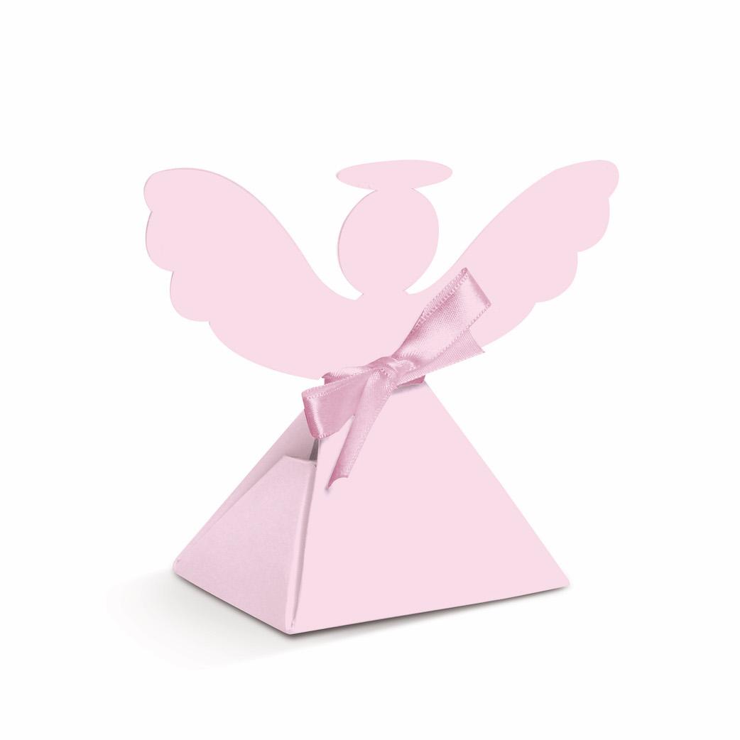 Caixa Anjo - Rosa
