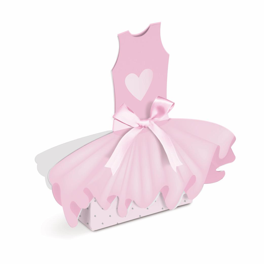 Caixa Vestido - Bailarina  - Marina Levy Festas