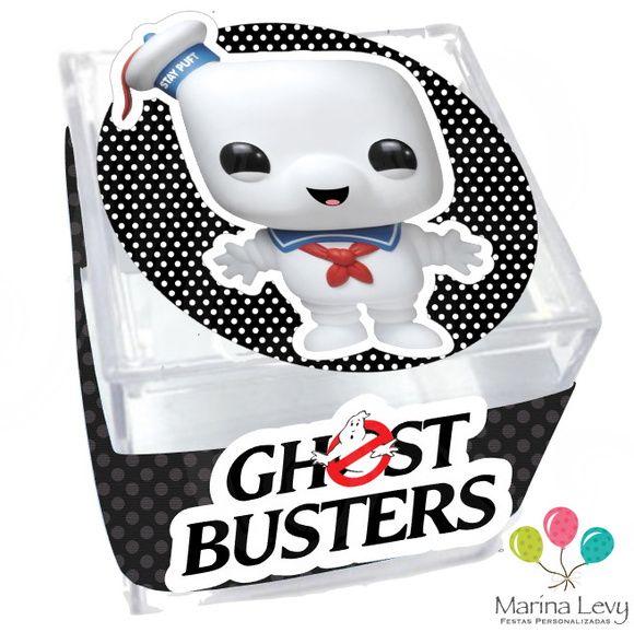 Caixinha Acrílico - Ghostbusters