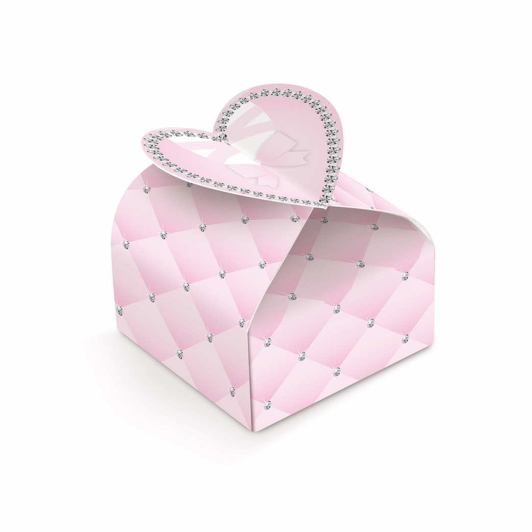 Caixinha Coração - Bailarina