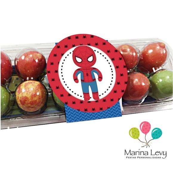 Caixinha de Ovinhos - Homem Aranha