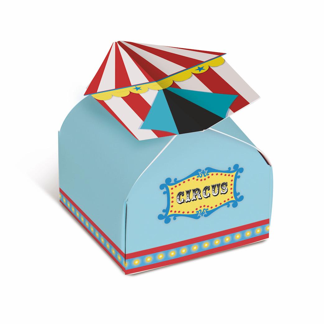 Caixinha Tenda - Circo