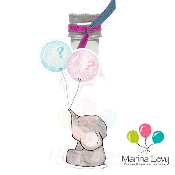 Chá Revelação - Monte seu Kit  - Marina Levy Festas