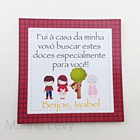 Chapeuzinho Vermelho - Monte seu Kit  - Marina Levy Festas