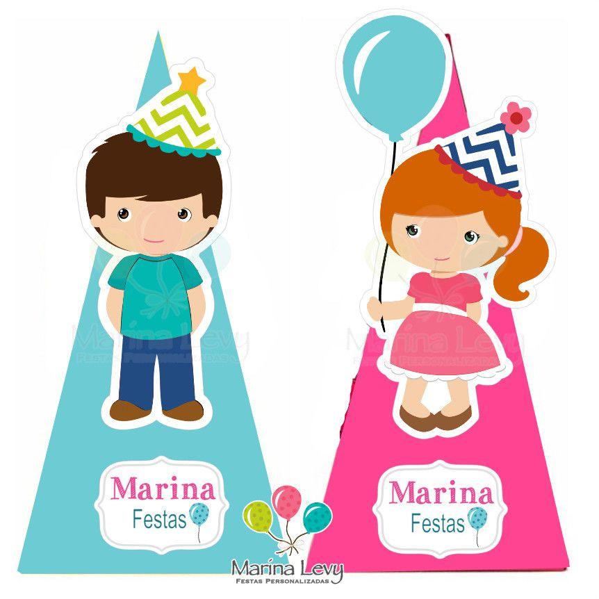 Cone Quadrado  - Marina Levy Festas