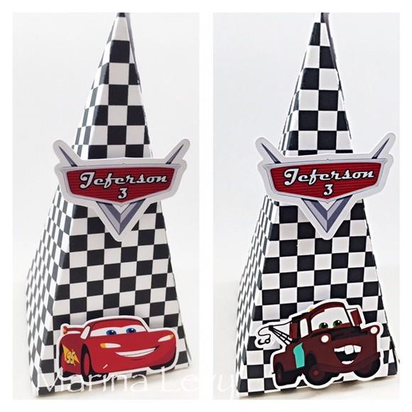 Cone Quadrado - Carros 3