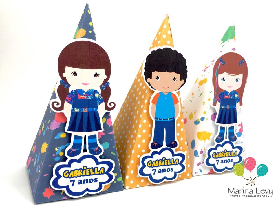 Cone Quadrado - Chiquititas  - Marina Levy Festas