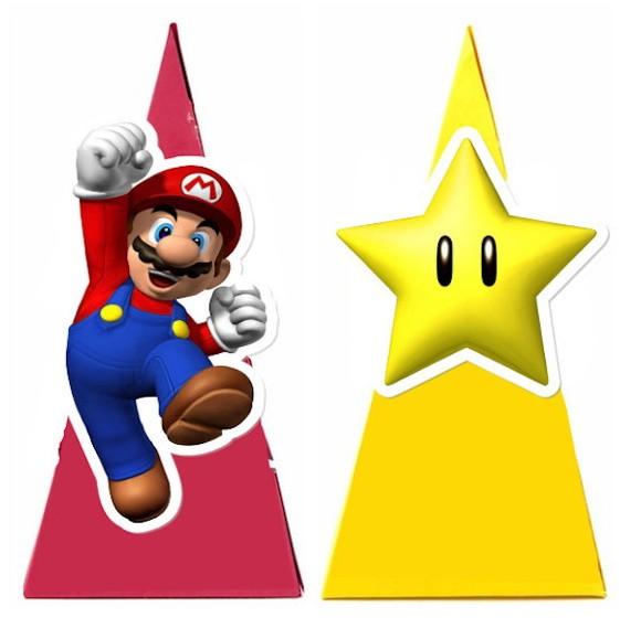 Cone Quadrado - Super Mario