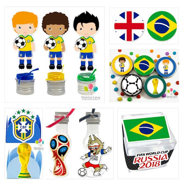 Copa do Mundo - Monte seu Kit
