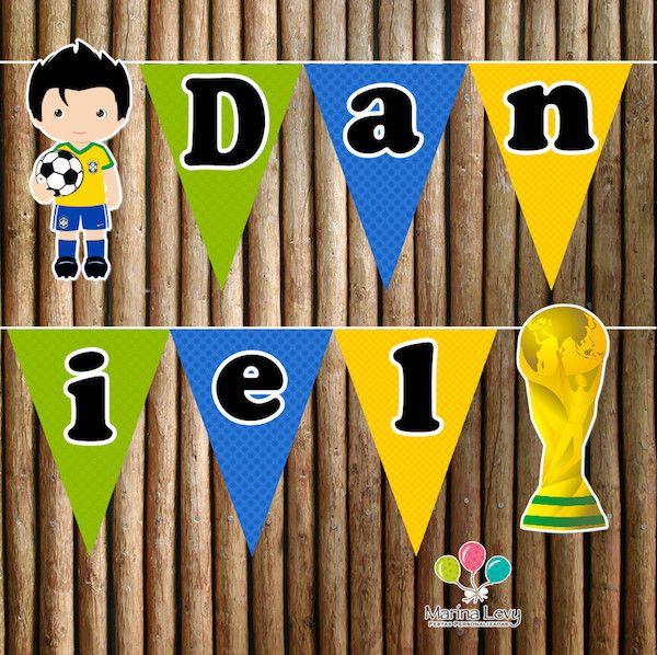Copa do Mundo - Monte seu Kit  - Marina Levy Festas