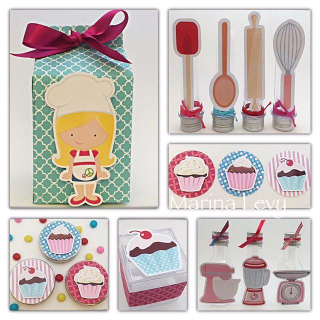 Cupcake - Monte seu Kit