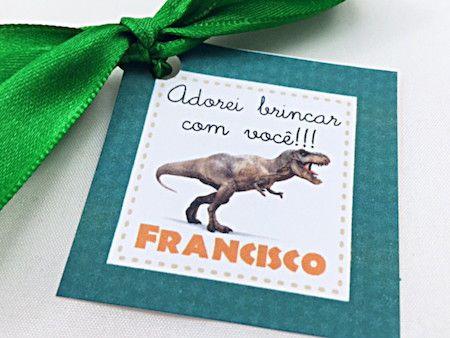 Dinossauro - Monte seu Kit  - Marina Levy Festas