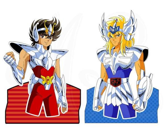 Display para 2 Bis - Cavaleiros do Zodíaco
