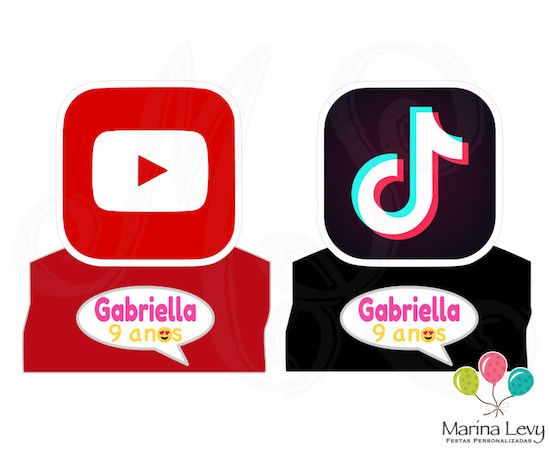 Emojis - Monte seu Kit  - Marina Levy Festas