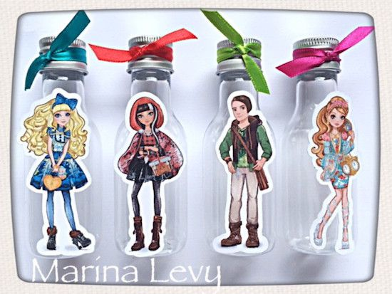 Ever After High - Monte seu Kit  - Marina Levy Festas
