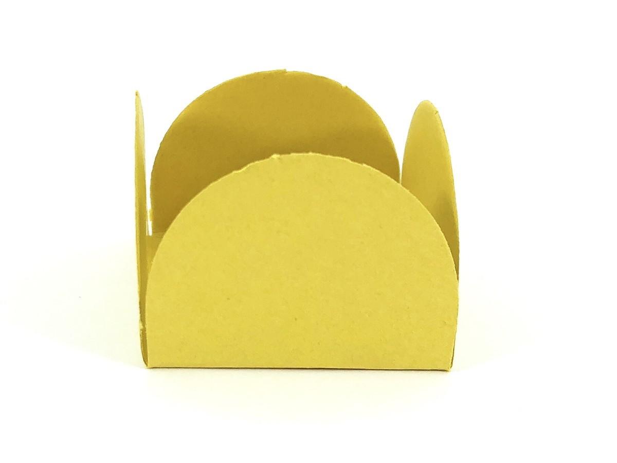 Forminha 4 Pétalas - Amarelo Ouro