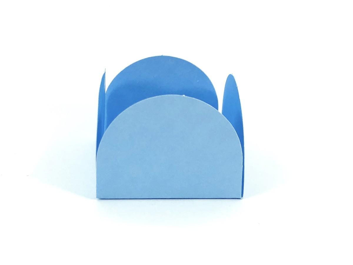Forminha 4 Pétalas - Azul Claro