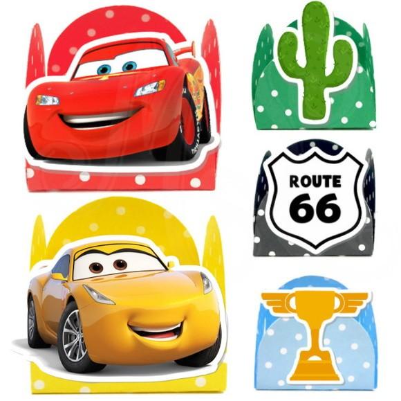 Forminha 3D - Carros 3