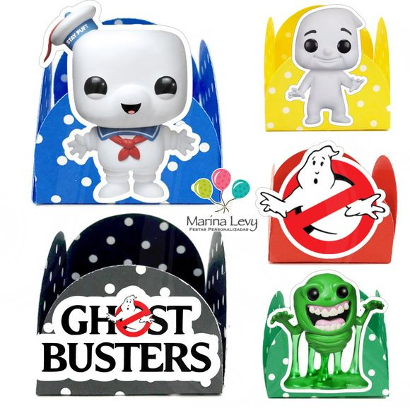 Forminha 3D - Ghostbusters
