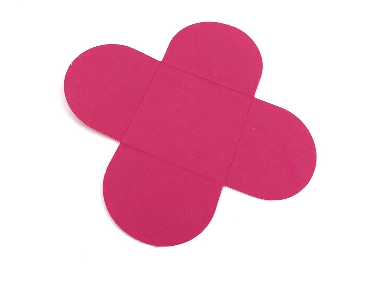 Forminha 4 Pétalas - Rosa Pink  - Marina Levy Festas