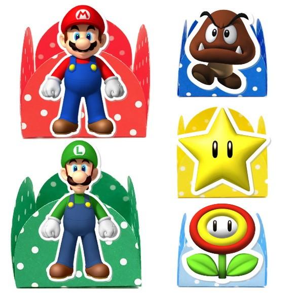 Forminha 3D - Super Mario