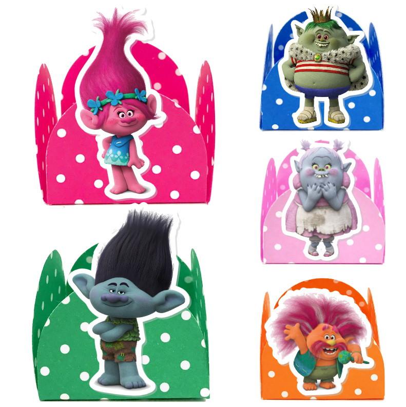 Forminha 3D - Trolls  - Marina Levy Festas
