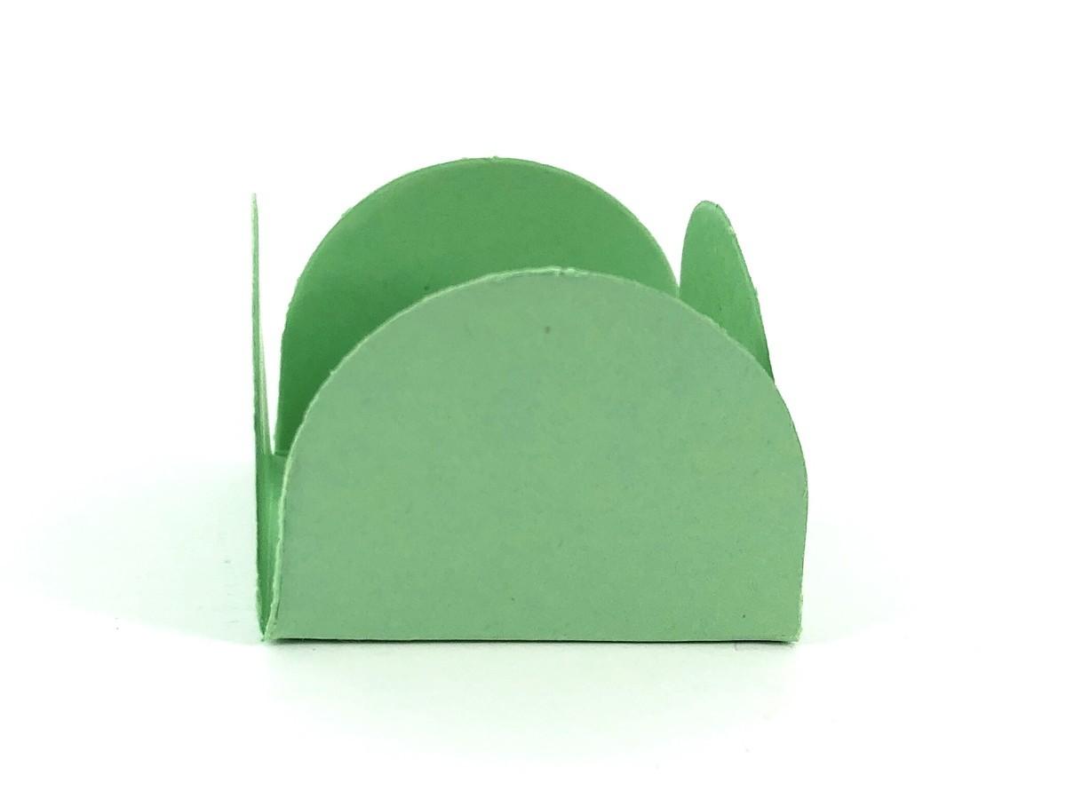 Forminha 4 Pétalas - Verde Maça