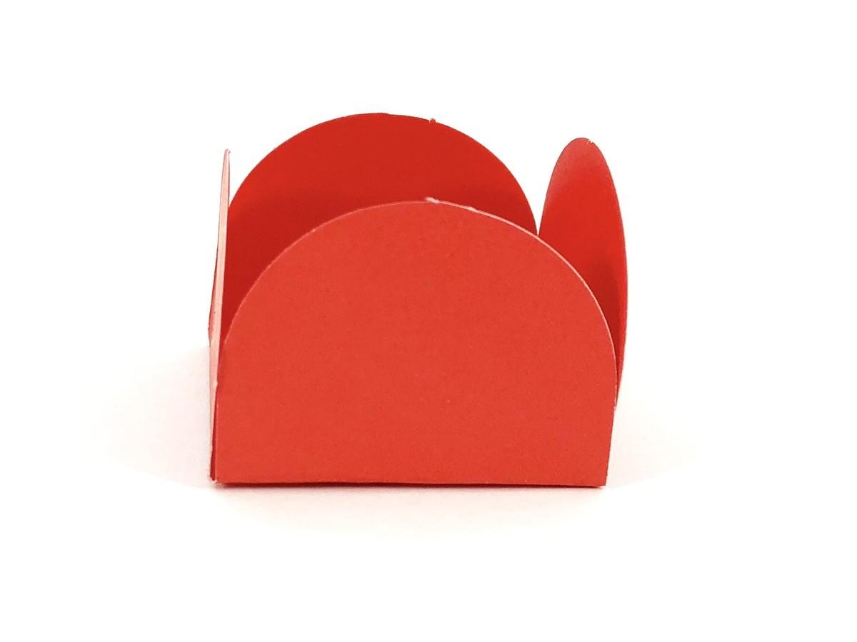 Forminha 4 Pétalas - Vermelha