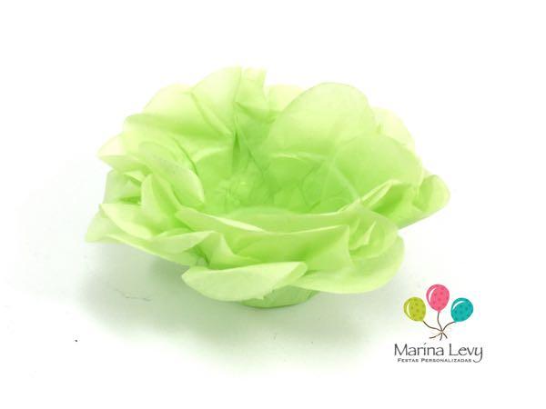 Forminha Flor 40un. - Verde