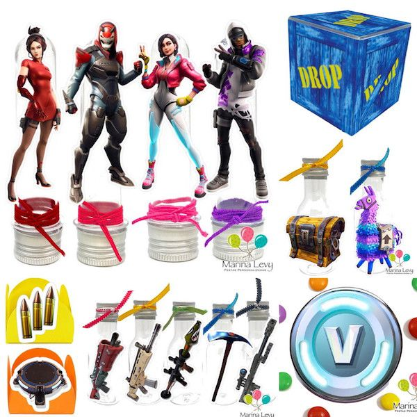 Fortnite - Monte seu Kit  - Marina Levy Festas
