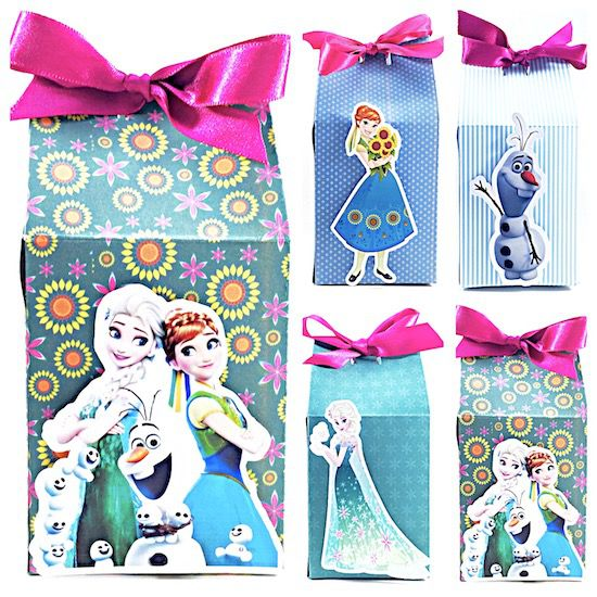 Frozen Fever Filme - Monte seu Kit