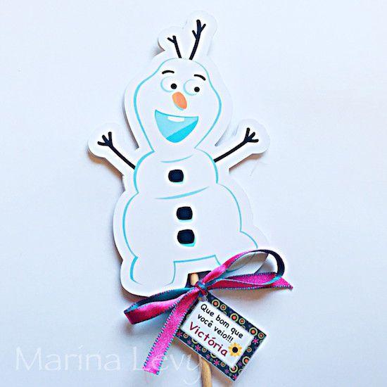 Frozen Fever Filme - Monte seu Kit  - Marina Levy Festas