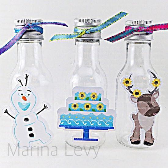 Frozen Fever - Monte seu Kit  - Marina Levy Festas