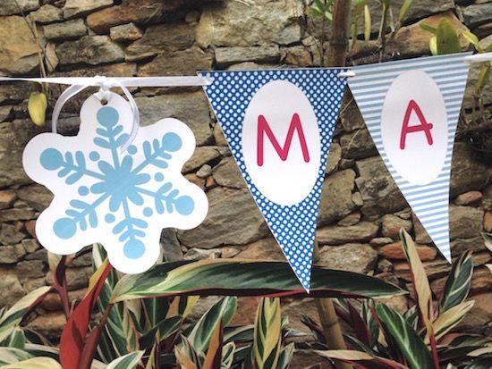 Frozen - Monte seu Kit  - Marina Levy Festas