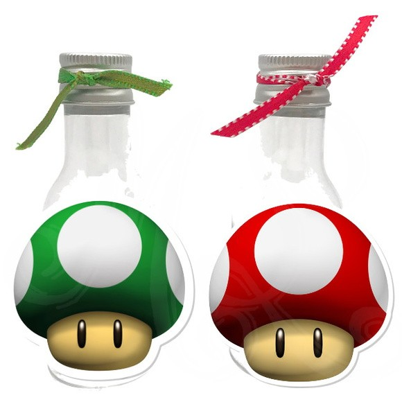 Garrafinha 50ml - Super Mario