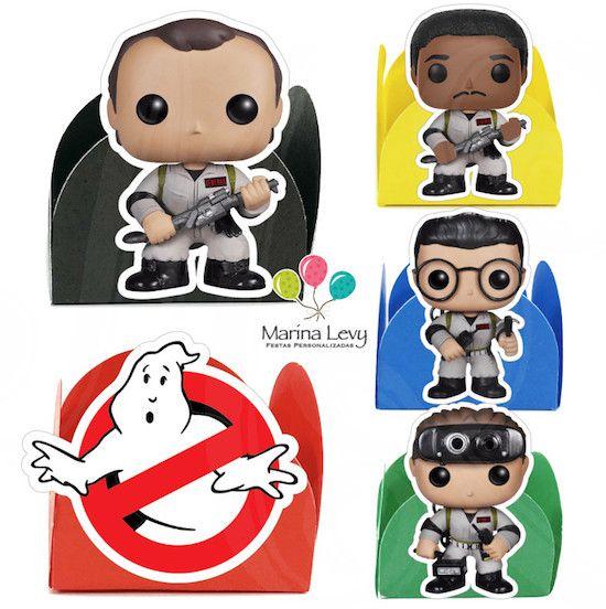 Ghostbusters - Monte seu Kit  - Marina Levy Festas