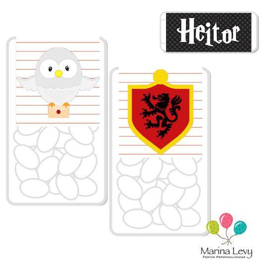 Harry Potter - Monte seu Kit  - Marina Levy Festas