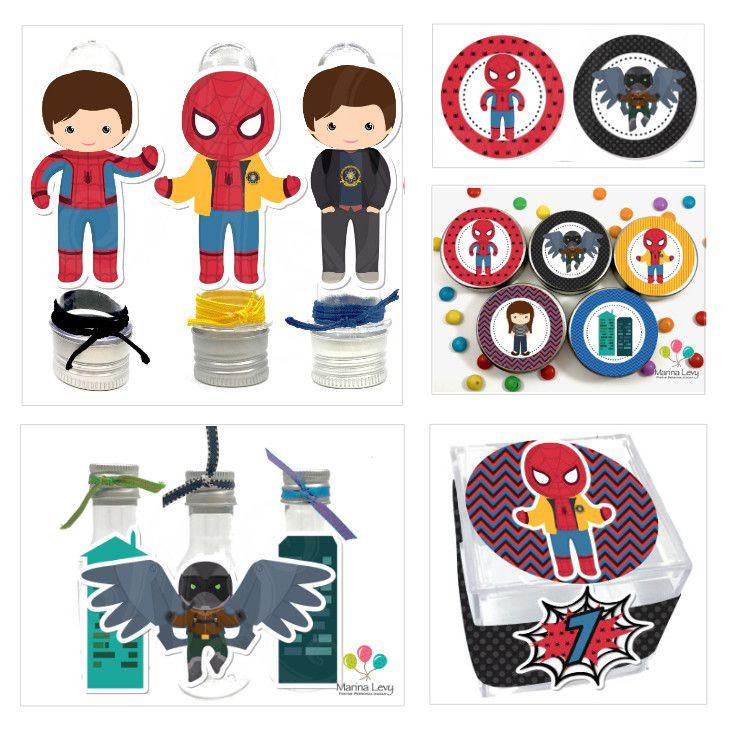 Homem Aranha - Monte seu Kit