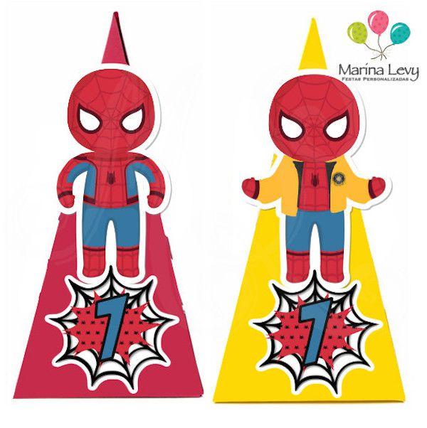 Homem Aranha - Monte seu Kit  - Marina Levy Festas