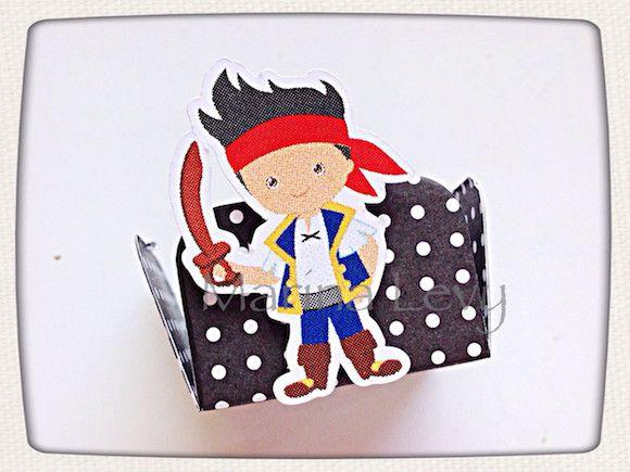 Jake e os Piratas - Monte seu Kit  - Marina Levy Festas