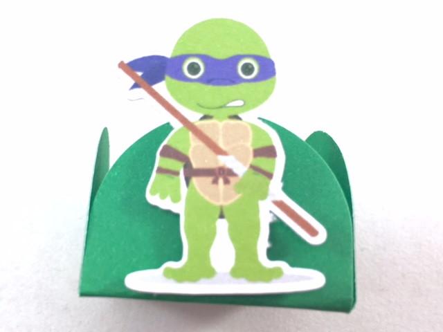 Kit c / 90 Forminhas - Tartarugas Ninja  - Marina Levy Festas