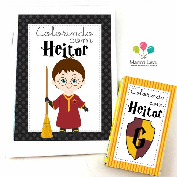 Kit Colorir - Harry Potter