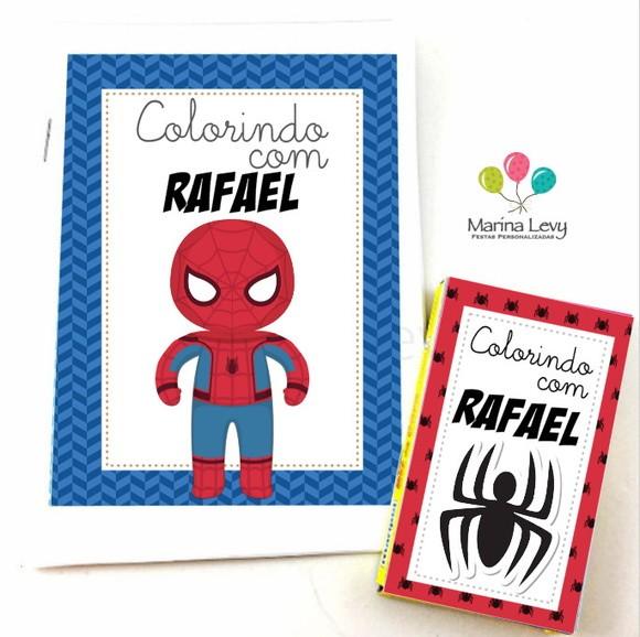 Kit Colorir - Homem Aranha