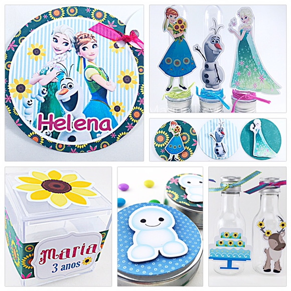 Kit Festa  - Frozen Fever Filme