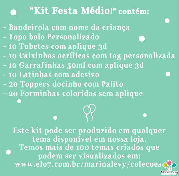 Kit Festa Médio  - Marina Levy Festas