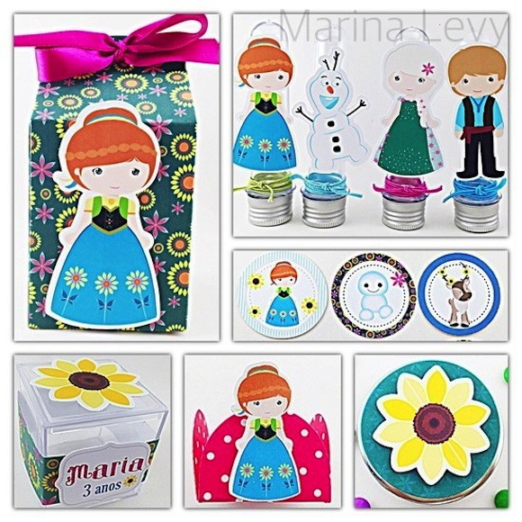 Kit Festa Novo - Frozen Fever
