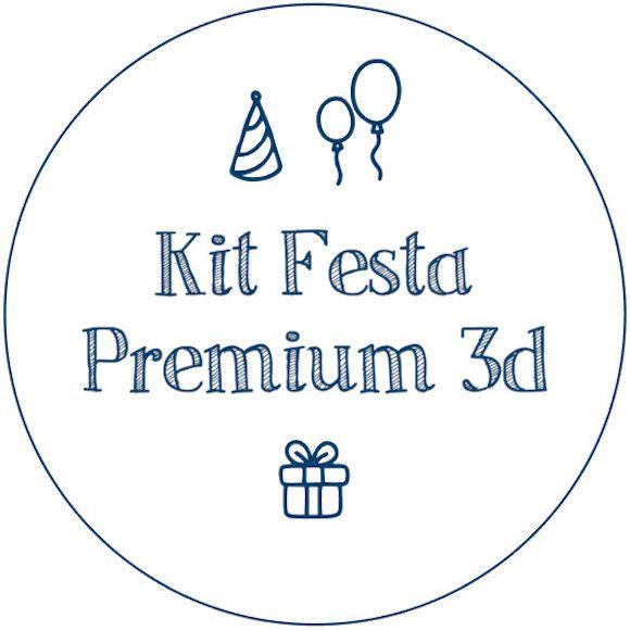 Kit Festa Premium 3d